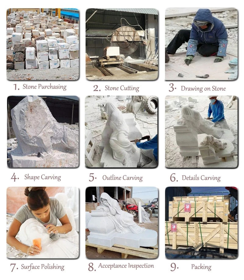 the process of marble carving